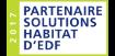 Partenaire solutions habitat d'EDF
